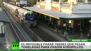 """""""Verdugos inocentes"""" en las vías argentinas"""