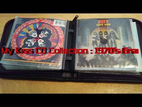 My Kiss CD Collection: 1970's Era