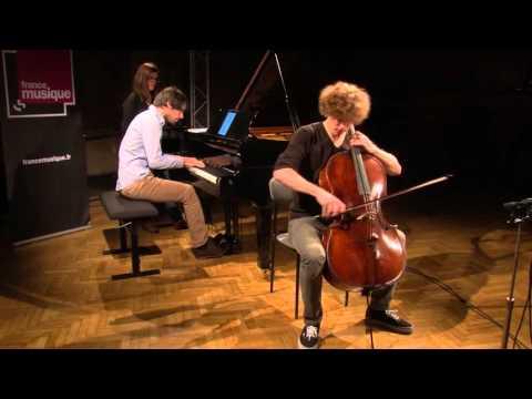 Brahms : Sonate en mi mineur op 38 par Bruno Philippe et Tanguy de Williencourt
