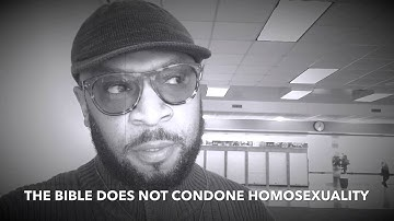 HOW THE BLACK CHURCH SHOULD DEAL WITH GAY MEMBERS by RC BLA
