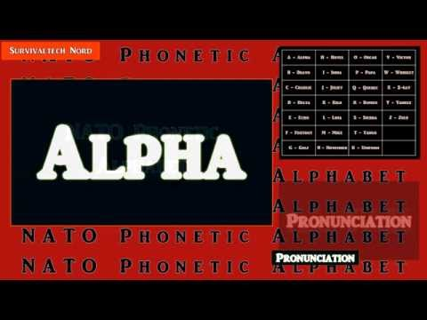 Learn The NATO Phonetic Alphabet For Emergency Communications