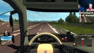 Live z Gabi -  #1 Euro Truck Simulator ;) (06.08.2015r)