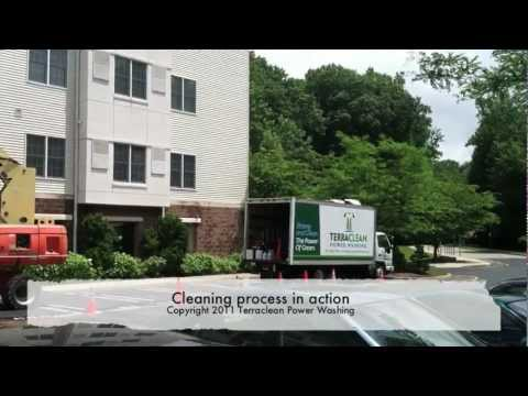 Terraclean NJ Commercial Property Power Washing