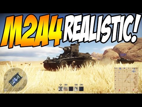 DO'S AND DON'TS! M2A4 and LVT A1 War Thunder Realistic Battle Tips