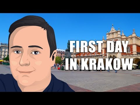 First Day in Krakow, Poland  (Travel Vlog - Ep. 1)