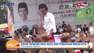 Jokowi Kampanye Terbuka di Pontianak | Prabowo Kampanye di Lapangan Kompyang, Bali - SIP 28/03