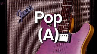 Cover images Pop Backing Track in A