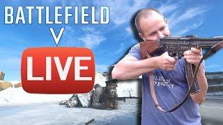 BATTLEFIELD 5 PS4 PRO - LIVE PO UPDATE - Na żywo