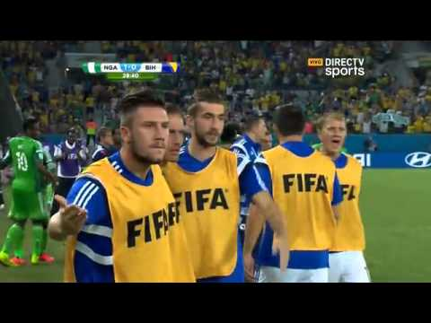 Nigeria 1  Bosnia 0 Mundial Brasil 2014 - Directv sports