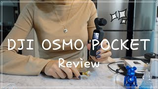 [오즈모포켓]DJI OSMO POCKET REVIEW …