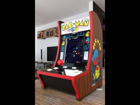 Arcade1up Pac Man 40th Anniversary Countercade Review from Not A Bad Youtuber