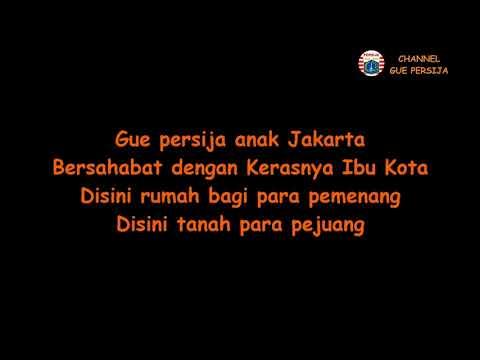 Gue Persija (Lyrics)