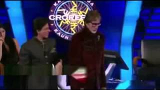 EXCLUSIVE!! SRK and Big B imitating each other at KBC 6 - Dialogue,Gangnam and more