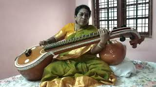 Bho Shambho Veena recital Raagam: Revati, Taalam: Aadi Aa: S R1 M1 P N2 S Av: S N2 P M1 R1 S