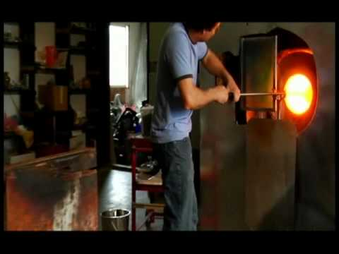 glass blowing instructional documentary by Jonathan Adams part 2