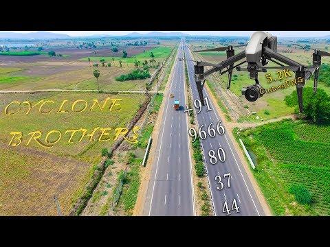 NH-16 || Fun Chasing || Drone Cam || By || CYCLONE BROTHERS (DJI)