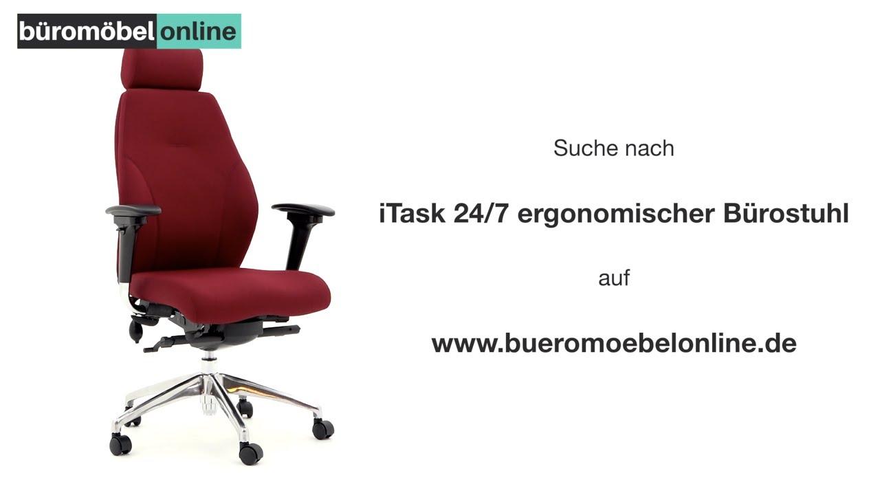 Itask 24 7 Ergonomischer Bürostuhl Mit Hoher Rückenlehne Eigenschaften