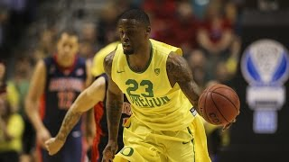 Highlights: Oregon men's basketball tops Arizona in Pac-12 Tournament semifinal