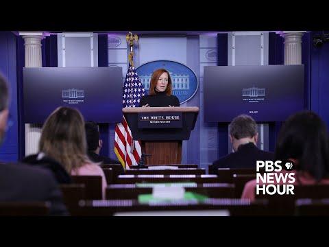 WATCH LIVE: White House press secretary Psaki holds news bri
