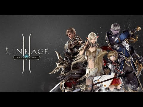 Lineage 2 Revolution android game first look gameplay español