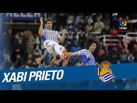 Xabi Prieto se despide de Anoeta
