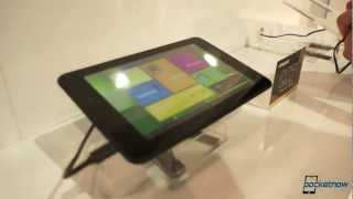Polaroid M10 Tablet @ CES 2013
