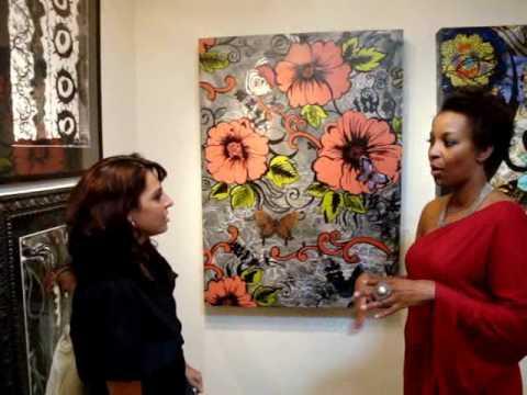 I am Woman Art Show Exhibit Rising Gallery Dallas   www.arthash.com