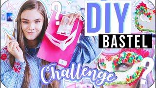 DIY Bastel Challenge aus 7 mir unbekannten Dingen // I'mJette