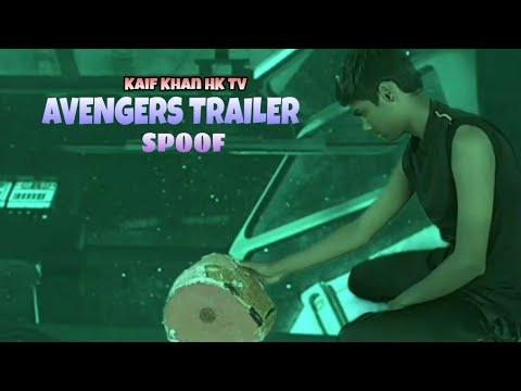 Avengers End Game | Trailer Spoof | Kaif Khan HK TV