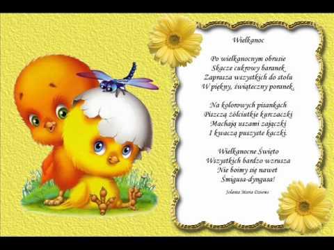 Wielkanoc Wiersz Jolanty Marii Dzieniswmv Youtube