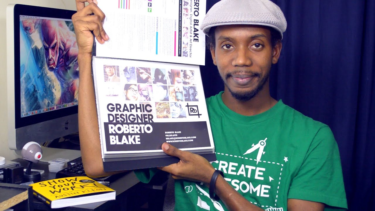 Graphic Design Portfolio Advice For 2015 - YouTube