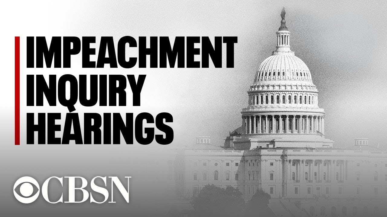 Impeachment Hearing Updates: Trump Actions Pose 'Clear And ...