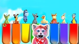 Как говорят животные - видео для малышей - Няша Мурмяша (0+)