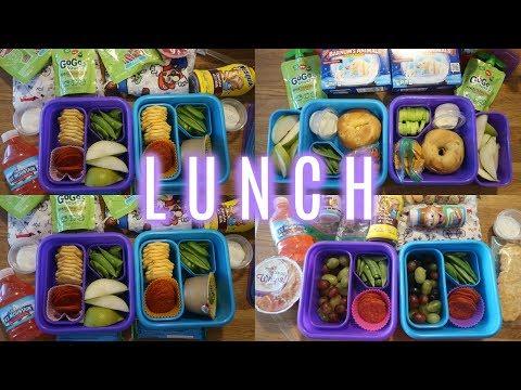 School Lunch Ideas! - Week 12 | Sarah Rae Vlogas |