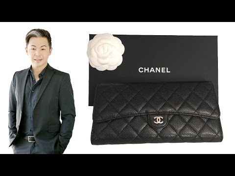 Chanel Travel Wallet Unboxing