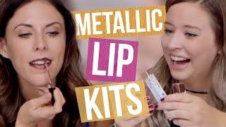 Kylie Jenner Metallic Matte Lipstick Unboxing (Beauty Break)