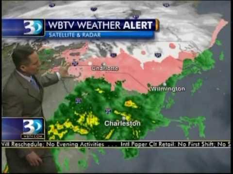 Winter Storm Local Coverage - WBTV News 3 - 1/30/10 (18)