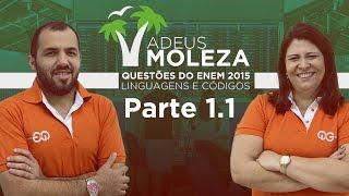 Questões de Lingua Portuguesa do ENEM 2015 resolvidas | Parte 1
