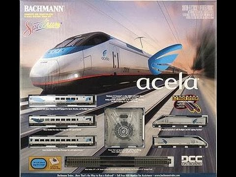 N Scale Bachmann Amtrak Acela Express Train Set