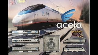 N Scale Bachmann Amtrak Acela Express