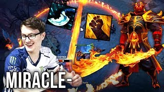 Miracle- IMBA Ember Spirit - Blink Dagger Meta Build - Dota 2 Gameplay
