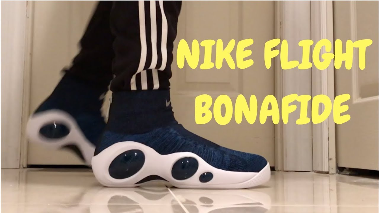 a705e1d0182d NIKE FLIGHT BONAFIDE ON-FEET+UNBOXING - YouTube