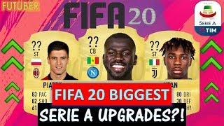 FIFA 20 | BIGGEST SERIE A UPGRADES!! FT. PIATEK, KEAN, KOULIBALY ETC... (FIFA 20 UPGRADES)