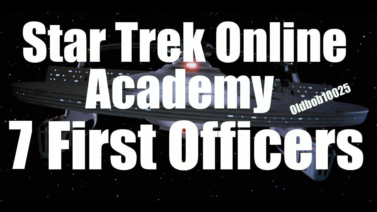 Star Trek Online Academy (First Ship Bridge Officers) - YouTube