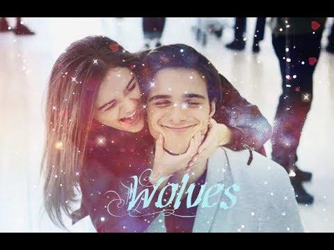 Elle & Noah | Ноа и Ель Wolves «Будка поцелуев»