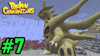 ✔️ĐÁNH BẠI SIÊU BOSS MEGA TYRANITAR | TOP GAME MINECRAFT PIXELMON POKEMON [7]
