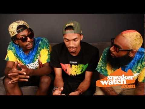Flatbush Zombies Share Their Thoughts On Foamposites (SneakerWatch)