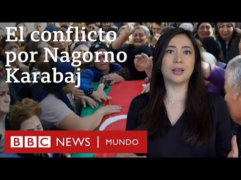 """Armenia y Azerbaiyán al """"borde de la guerra"""" por Nagorno Karabaj"""