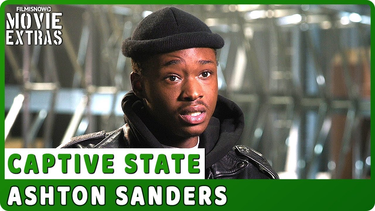 CAPTIVE STATE | On-set Interview with Ashton Sanders