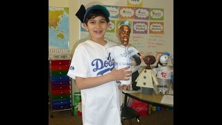 Bottle Biography Buddy Project - Jackie Robinson - Avy s 2nd Grade
